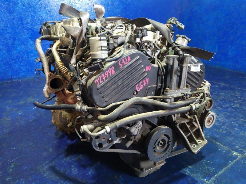 Двигатель Mitsubishi Proudia S32A 6G74 GDI 2000