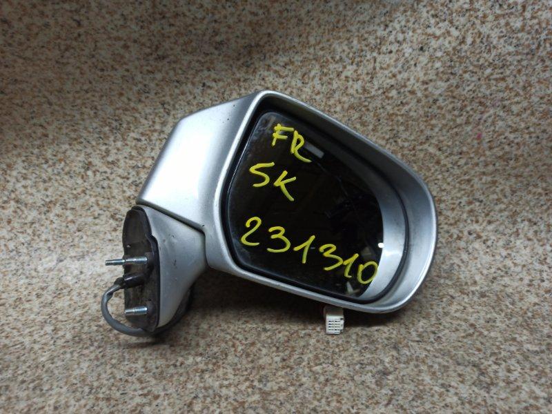 Зеркало Mazda Premacy CP8W 2002 переднее правое