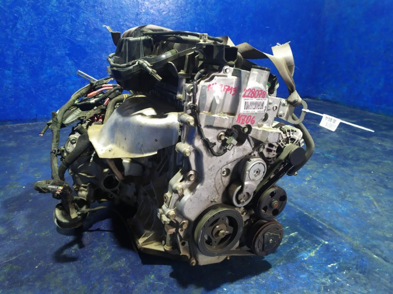 Двигатель Renault Megane KZ0G M4RF713 2008