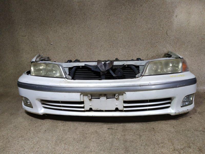 Nose cut Toyota Mark Ii Qualis MCV21 2MZ-FE передний