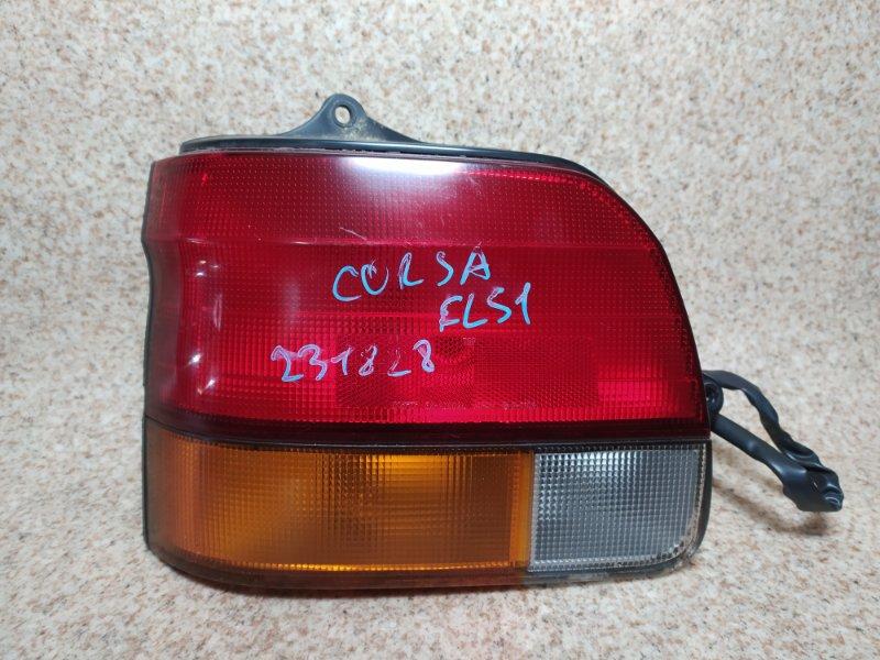 Стоп-сигнал Toyota Corsa EL51 задний левый