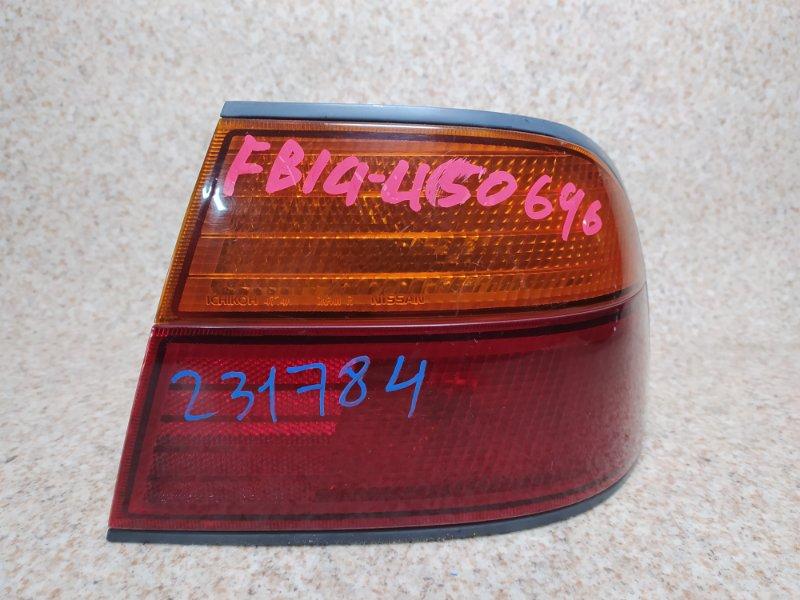 Стоп-сигнал Nissan Sunny FB14 задний правый