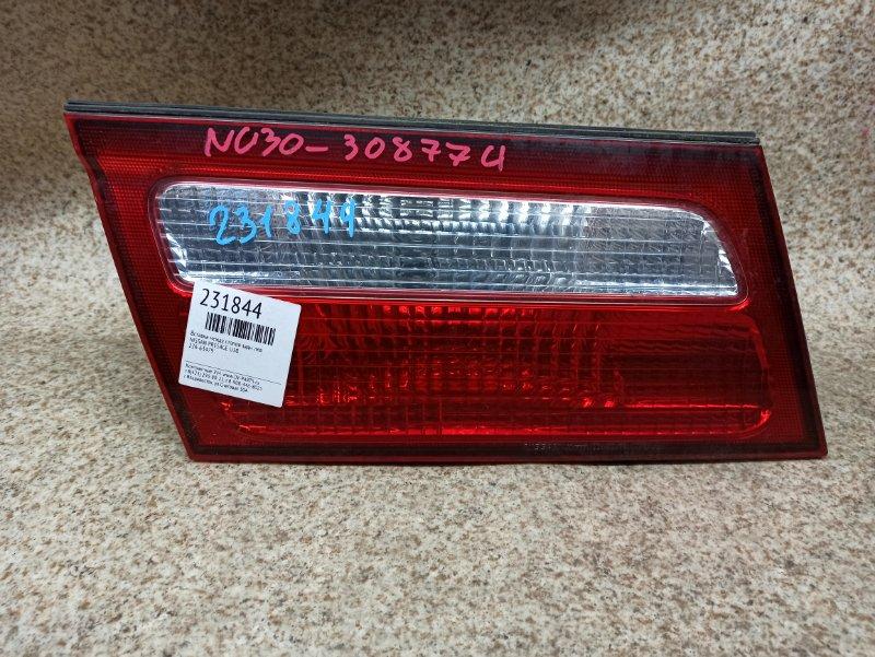 Вставка между стопов Nissan Presage U30 задняя левая