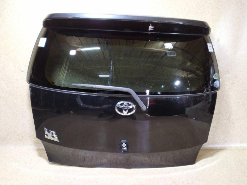 Дверь задняя Toyota Bb QNC20 2007 задняя