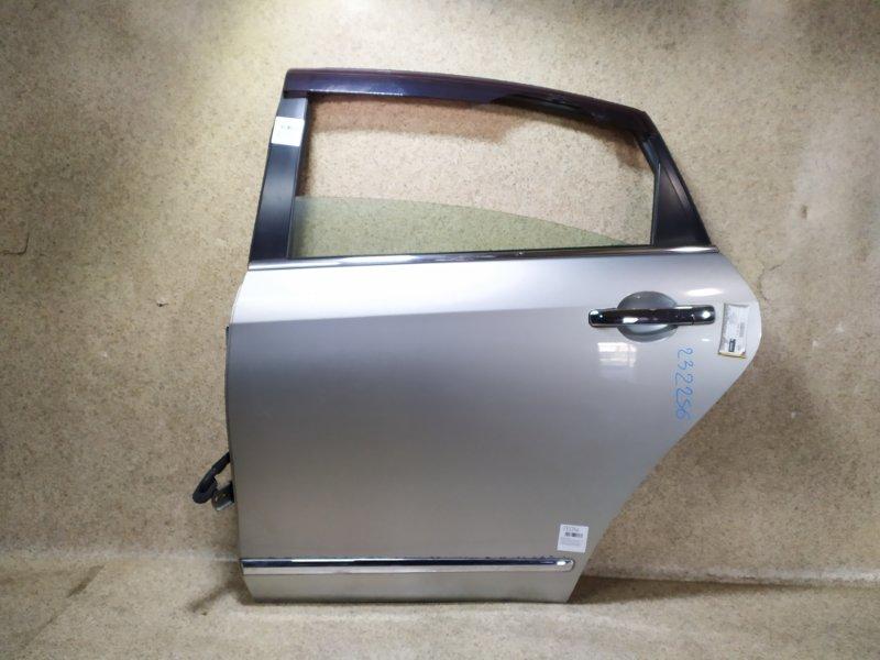 Дверь Nissan Bluebird Sylphy G11 2006 задняя левая