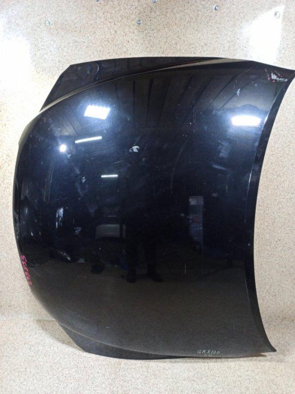 Капот Toyota Mark X GRX120 2006 передний