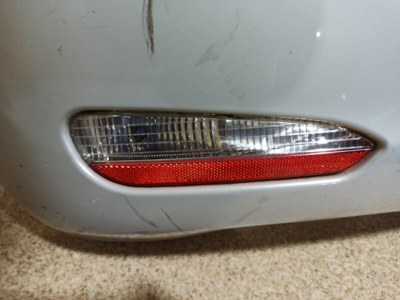 Бампер Fiat Grand Punto 199 2004 задний