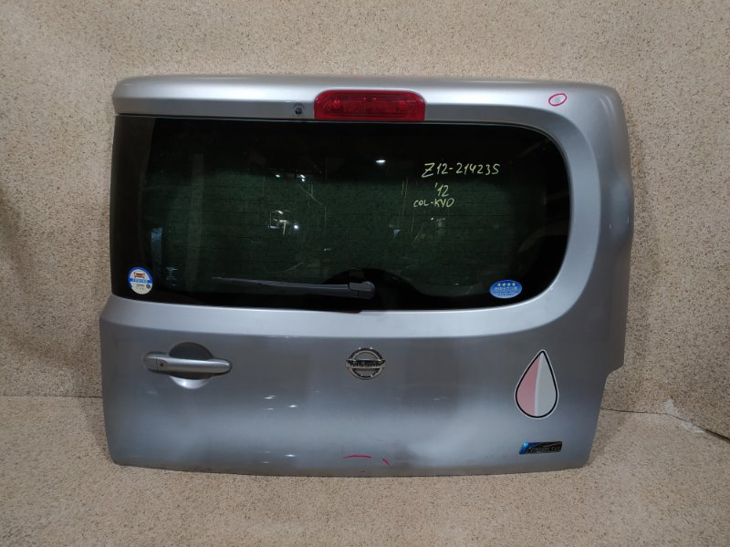 Дверь задняя Nissan Cube Z12 2012 задняя
