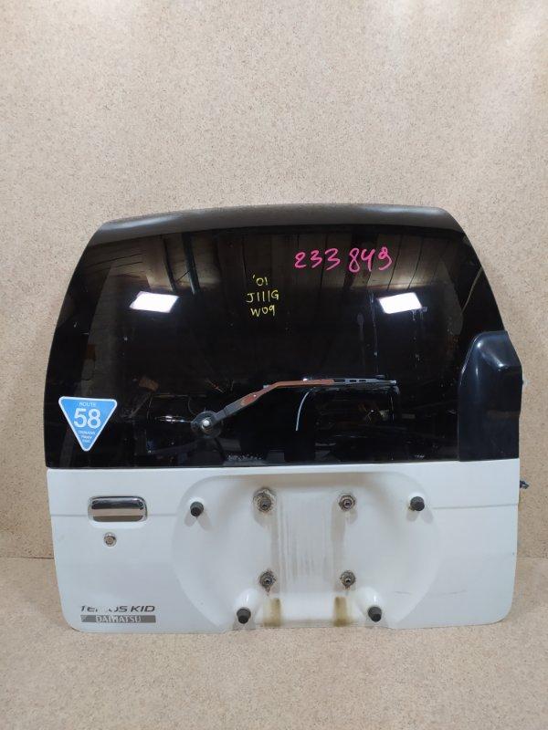 Дверь задняя Daihatsu Terios Kid J111G 2001 задняя