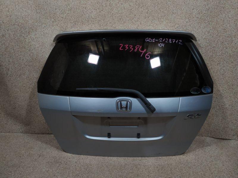 Дверь задняя Honda Fit GD1 2004 задняя