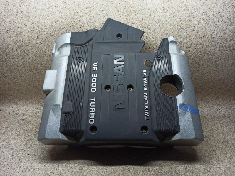 Пластиковая крышка на двс Nissan Cedric HY33 VQ30DET