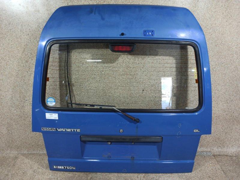 Дверь задняя Nissan Vanette SS58VN 1994 задняя