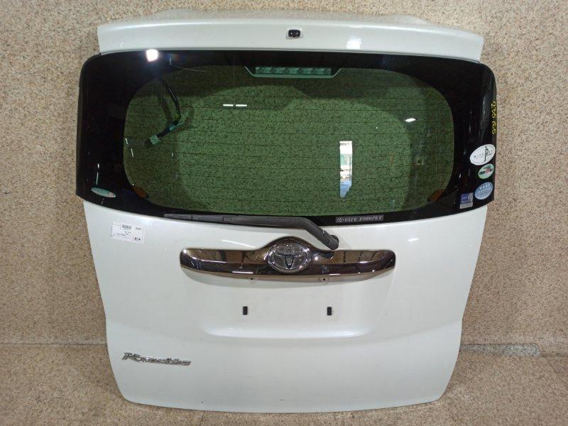Дверь задняя Toyota Ractis SCP100 задняя