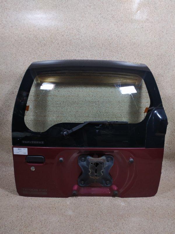 Дверь задняя Daihatsu Terios Kid J111G 1998 задняя