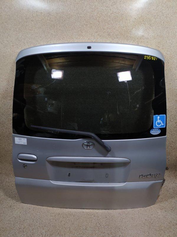 Дверь задняя Toyota Funcargo NCP20 задняя