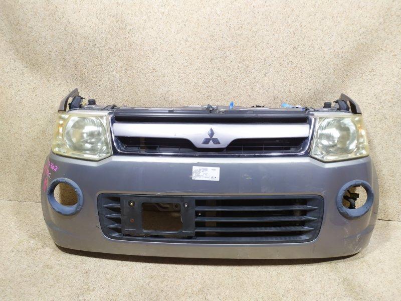 Nose cut Mitsubishi Ek Wagon H82W 4G83 2006 передний