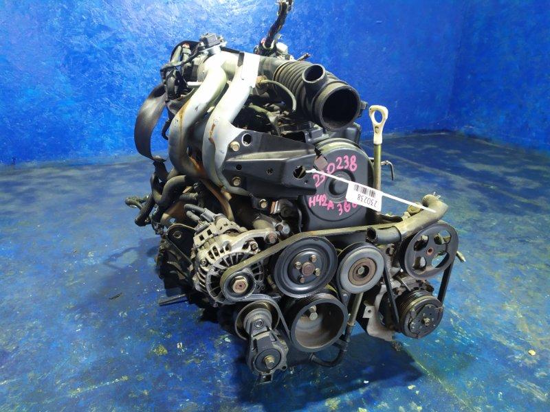 Двигатель Mitsubishi Toppo Bj H42A 3G83 2003