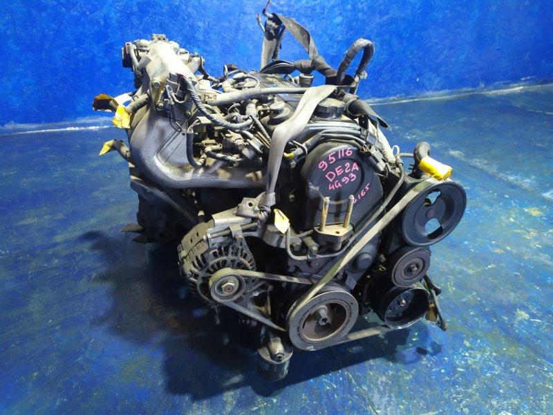Двигатель Mitsubishi Fto DE2A 4G93 1995 #95116