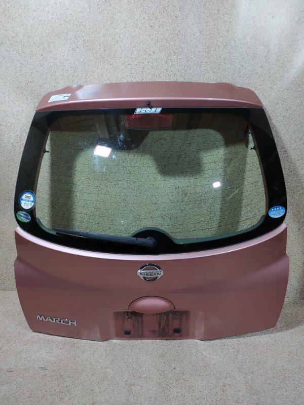 Дверь задняя Nissan March K12 2007