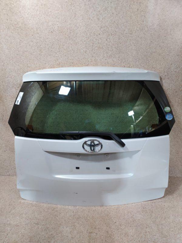 Дверь задняя Toyota Ractis NCP120 2011