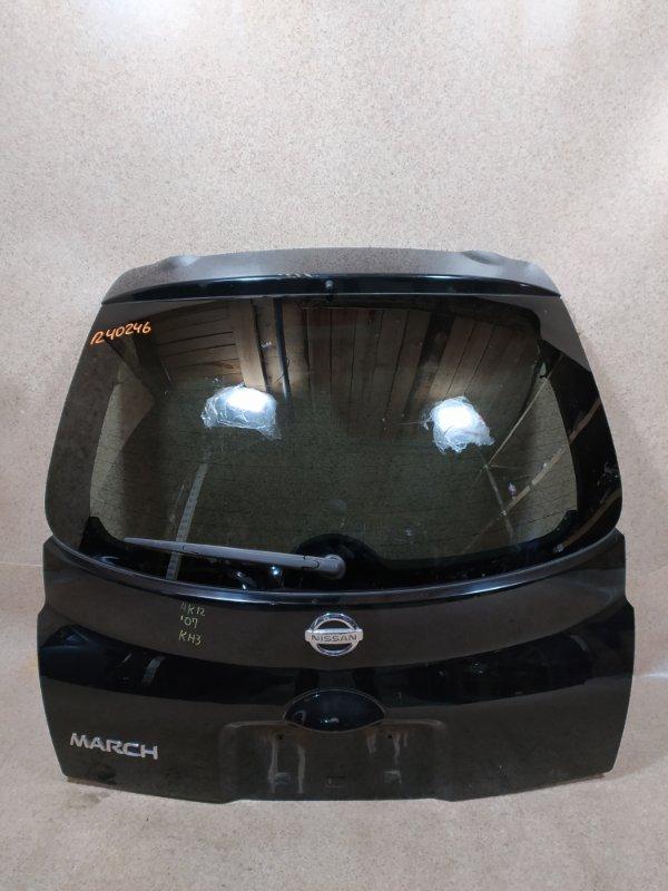 Дверь задняя Nissan March K12 задняя