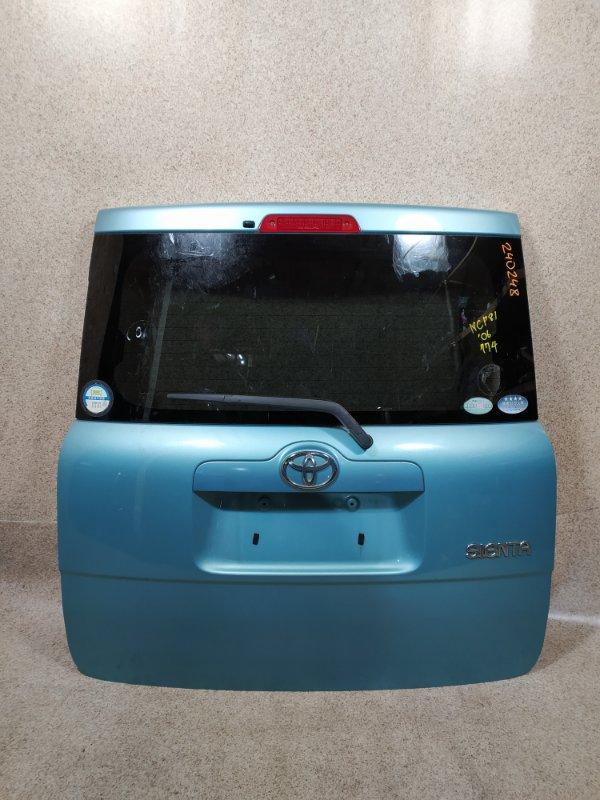 Дверь задняя Toyota Sienta NCP81 задняя