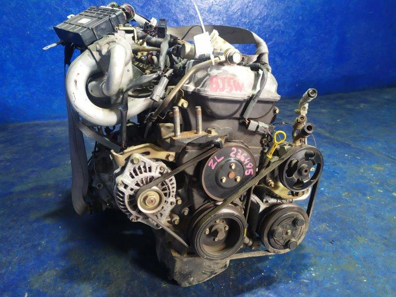 Двигатель Mazda Familia BJ5W ZL 2001