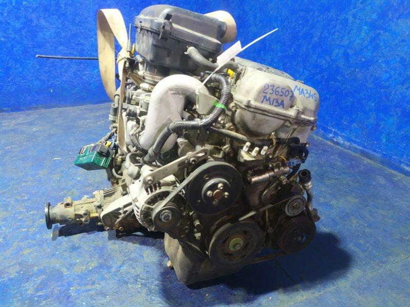 Двигатель Suzuki Wagon R MA34S M13A 2009