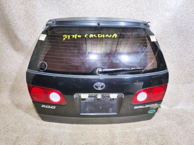 Дверь задняя Toyota Caldina ST210 1997 задняя