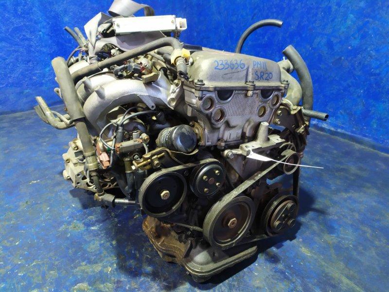 Двигатель Nissan Prairie Joy PM11 SR20DE