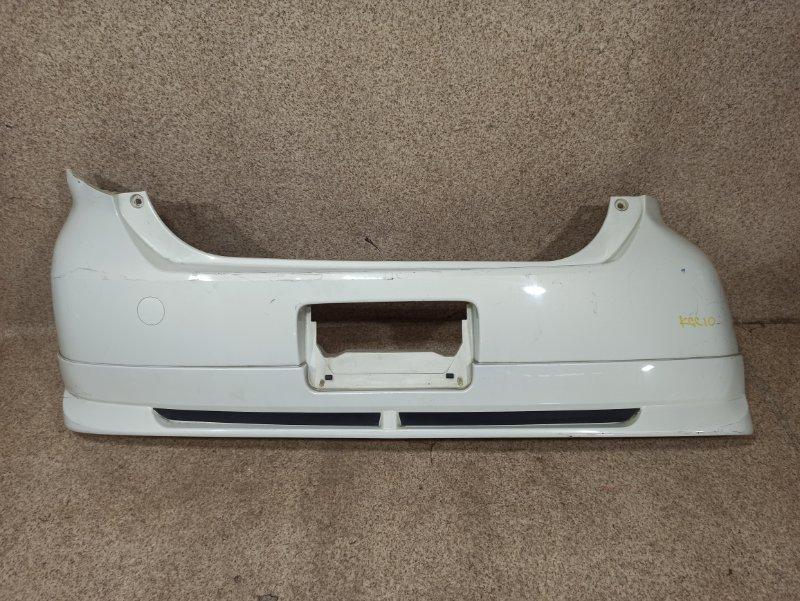 Бампер Toyota Passo KGC10 задний