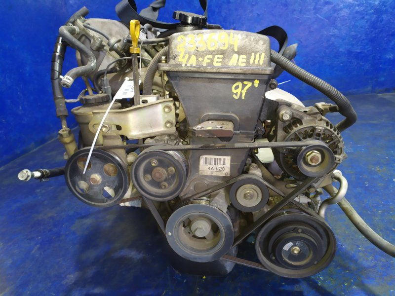 Двигатель Toyota Sprinter Carib AE111 4A-FE 1997