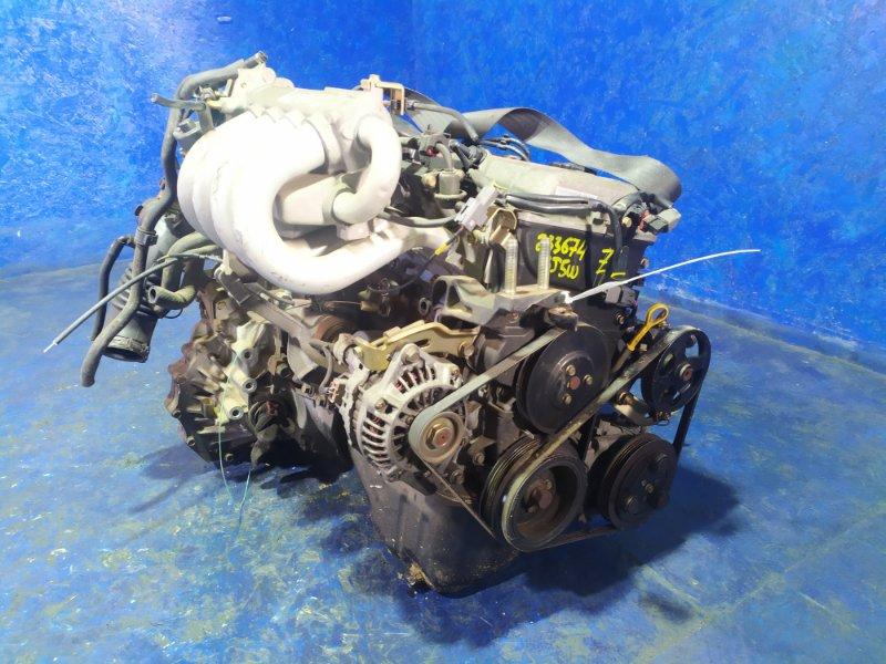 Двигатель Mazda Familia BJ5W ZL 2003