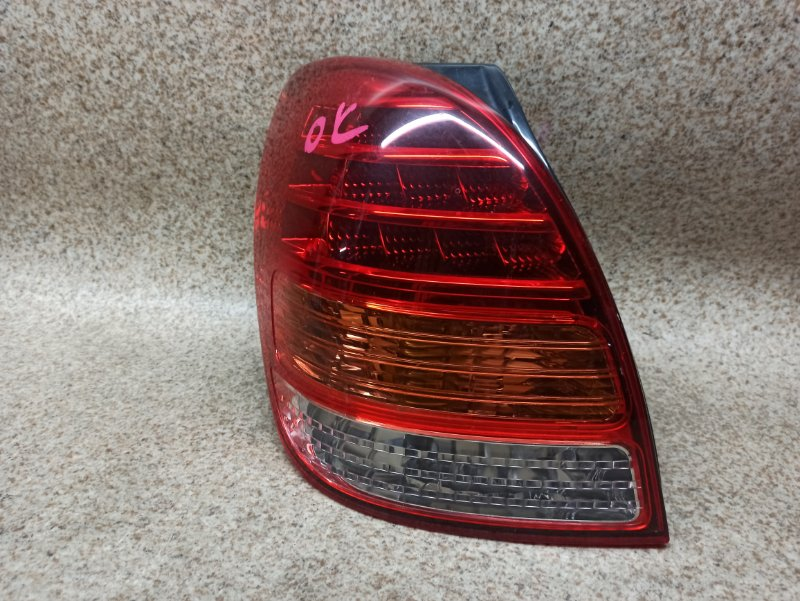 Стоп-сигнал Toyota Corolla Spacio NZE121 2004 задний левый