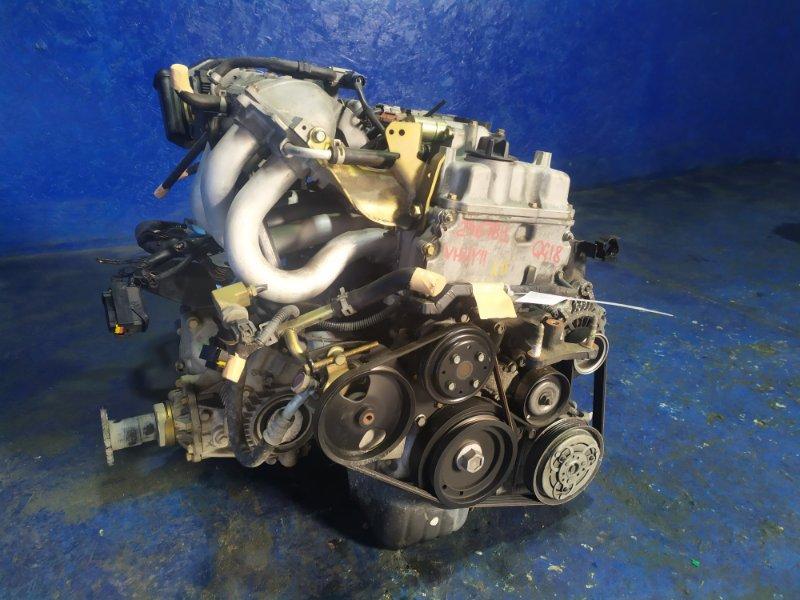 Двигатель Mazda Familia VHNY11 QG18DE 2018