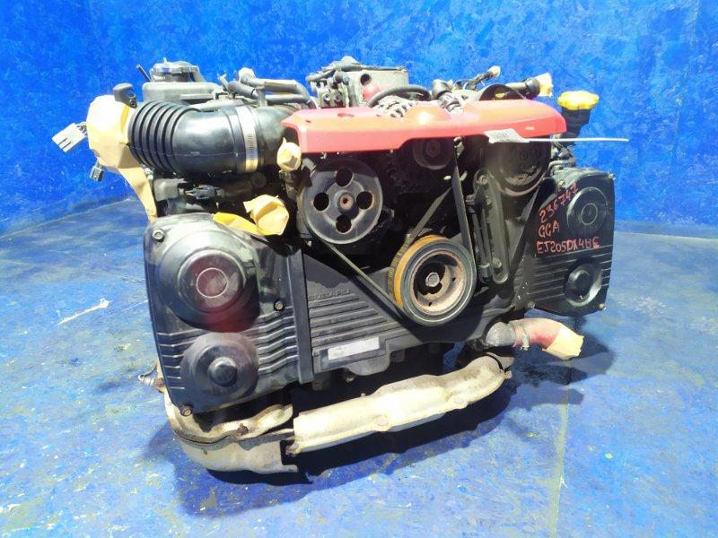 Двигатель Subaru Impreza GGA EJ205DX4BE 2002