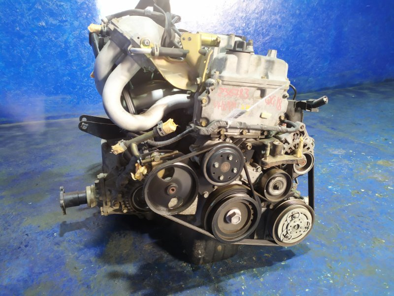 Двигатель Mazda Familia VHNY11 QG18DE 2006