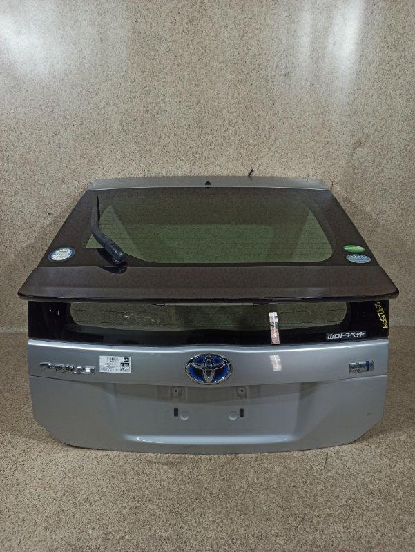 Дверь задняя Toyota Prius ZVW30 2012