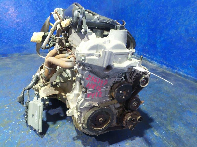 Двигатель Mazda Familia VY12 HR15DE 2008