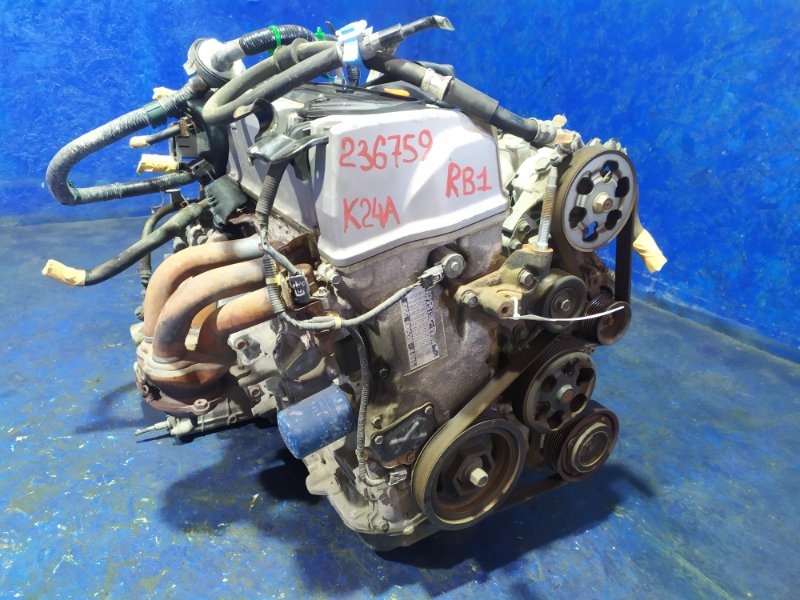 Двигатель Honda Odyssey RB1 K24A VTEC 2005