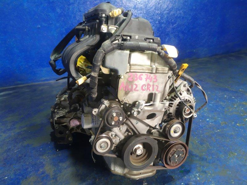 Двигатель Nissan March AK12 CR12DE 2009