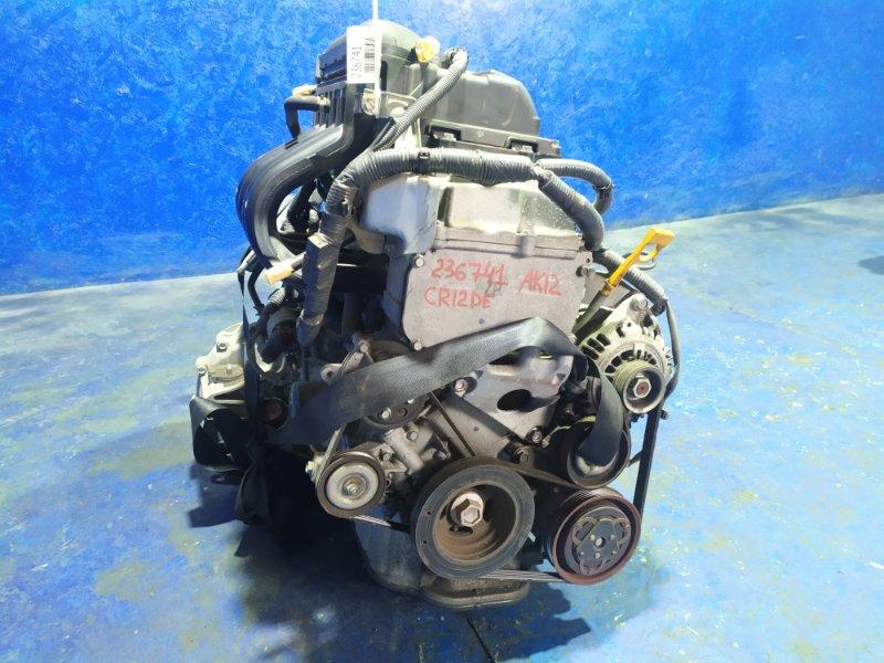 Двигатель Nissan March AK12 CR12DE 2008