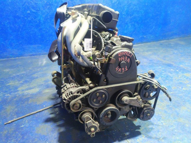 Двигатель Mitsubishi Toppo Bj H43A 4A31 2000