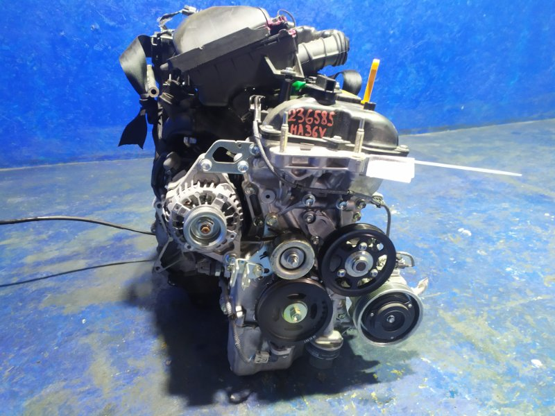 Двигатель Suzuki Alto Van HA36V R06A 2020
