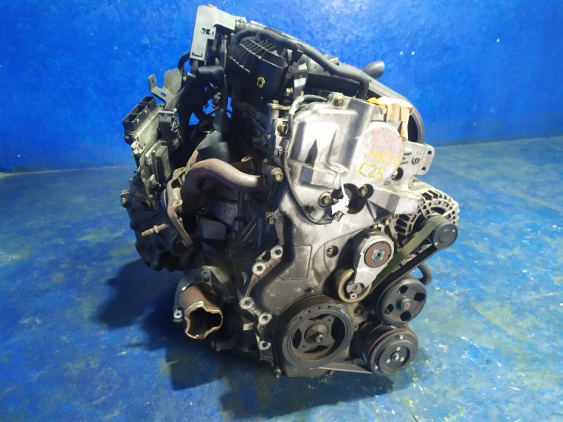 Двигатель Nissan Serena C25 MR20DE 2005