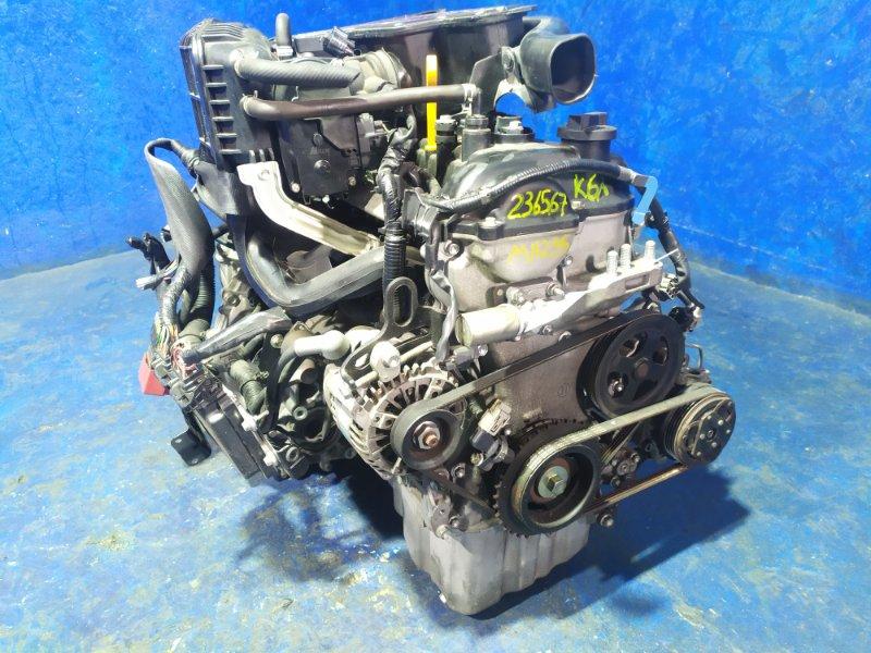 Двигатель Suzuki Wagon R MH23S K6A 2010
