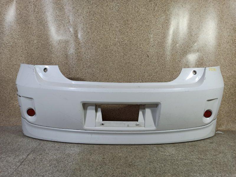 Бампер Toyota Porte NNP10 задний