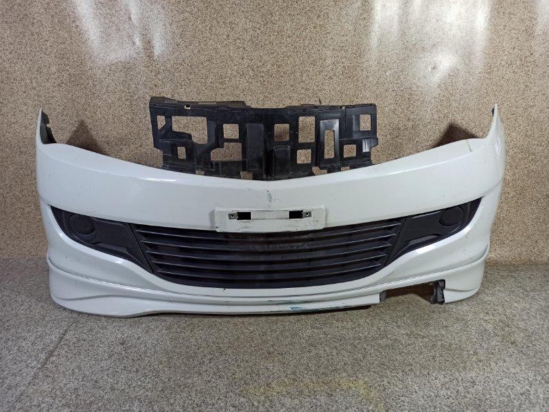 Бампер Suzuki Solio MA15S 2012 передний