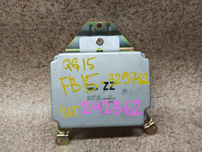 Блок управления efi Nissan Sunny FB15 QG15