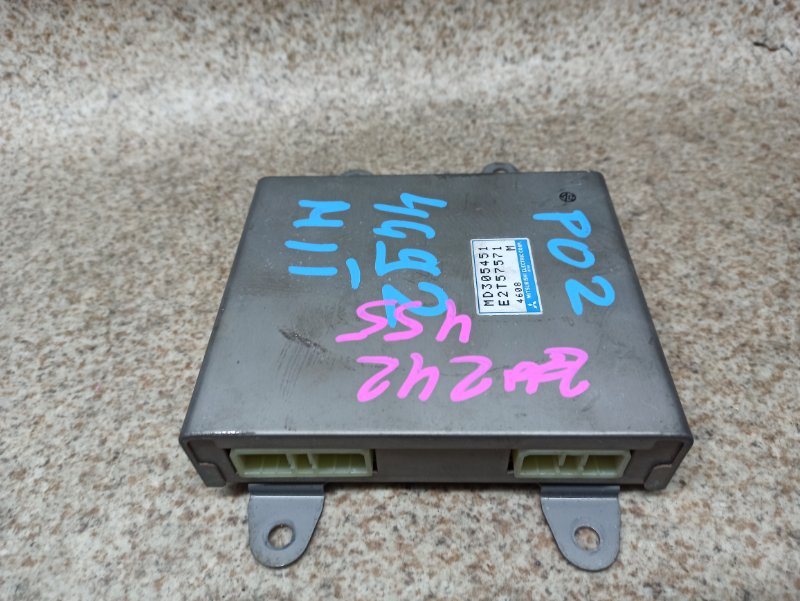 Блок управления efi Mitsubishi Delica P02 4G92